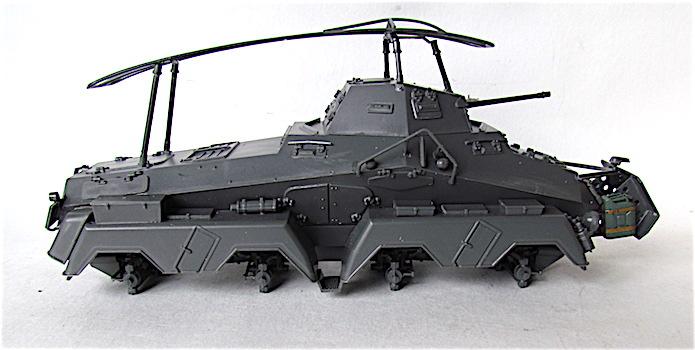 Sd.Kfz 232 (8 rads) Schwerer Panzerspähwagen 1/35 Tamiya FINI IMG_0148