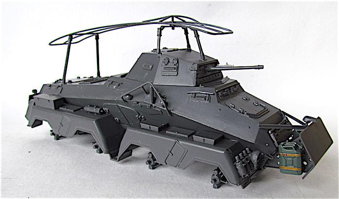Sd.Kfz 232 (8 rads) Schwerer Panzerspähwagen 1/35 Tamiya FINI IMG_0150