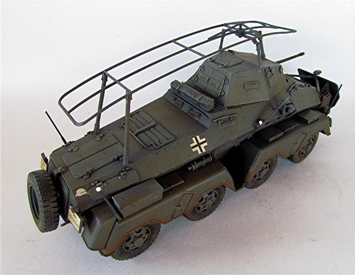 Sd.Kfz 232 (8 rads) Schwerer Panzerspähwagen 1/35 Tamiya FINI IMG_0211
