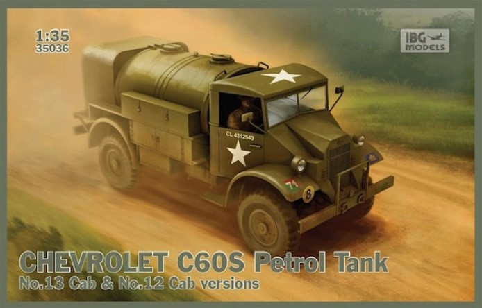 CHEVROLET C60S Petrol tank N°13 Cab & N°12 Cab version 1/35 IBG Models FINI CHEVROLET%20CITERNE