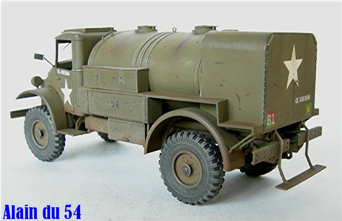CHEVROLET C60S Petrol tank N°13 Cab & N°12 Cab version 1/35 IBG Models FINI - Page 2 DSCN0895