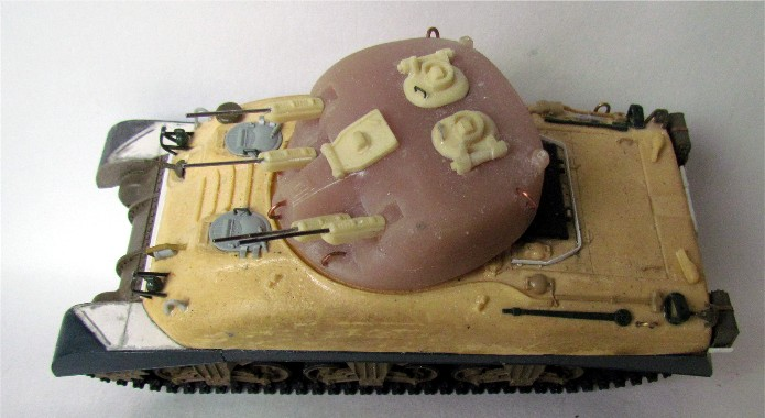 SKINK Canadian Tank AA Production Résine Model 1/35 FINI IMG_0064