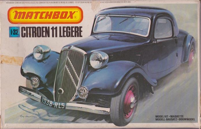 Citroën 11 Légère 1/32 Matchbox 1