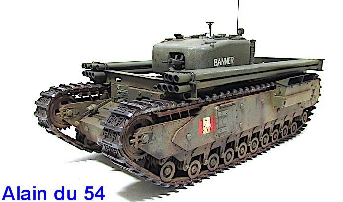 Churchill Mk IV AVRE Snake 1/35 AFV Club  FINI - Page 2 IMG_1979