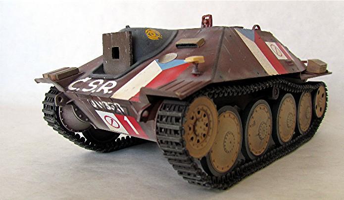 Jagdpanzer 38(t) Hetzer Prague 1945 academy 1/35 FINI - Page 2 002