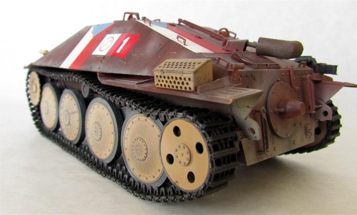 Jagdpanzer 38(t) Hetzer Prague 1945 academy 1/35 FINI - Page 2 003