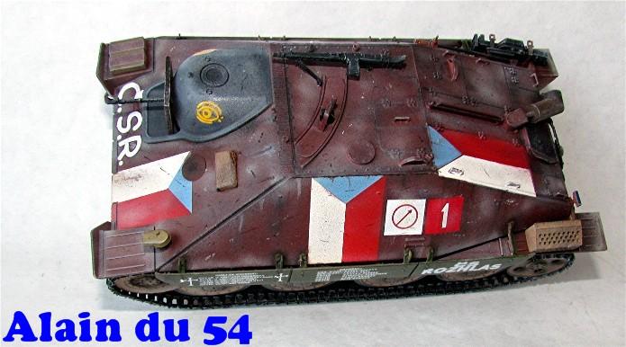 Jagdpanzer 38(t) Hetzer Prague 1945 academy 1/35 FINI - Page 2 A013