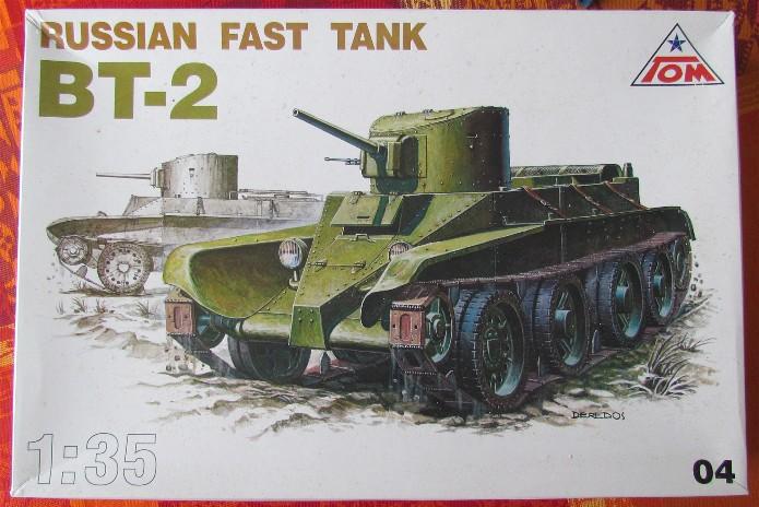 BT-2 russian fast tank 1/35 TOM FINI IMG_2724
