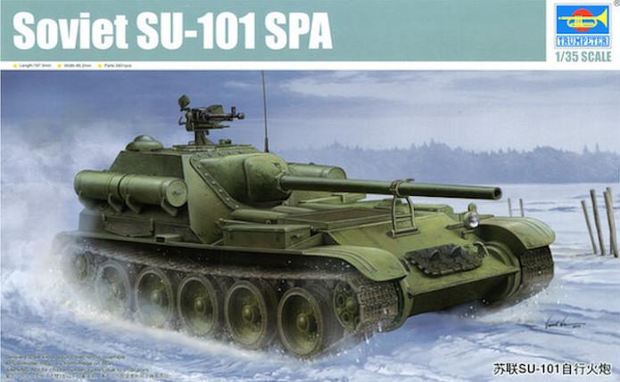 Soviet SU-101 SPA 1/35 Trumpeter 1
