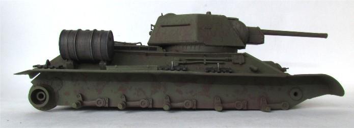T-34 76mm Mle 43 rouleaux déminage 1/35 Zvezda FINI IMG_4598