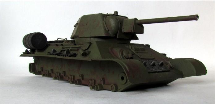 T-34 76mm Mle 43 rouleaux déminage 1/35 Zvezda FINI IMG_4599