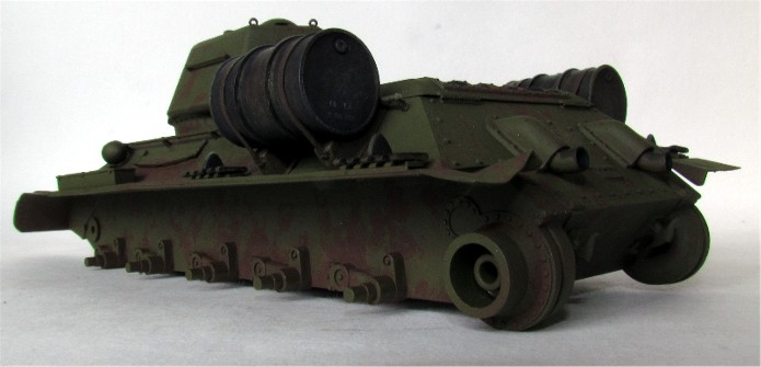 T-34 76mm Mle 43 rouleaux déminage 1/35 Zvezda FINI IMG_4600