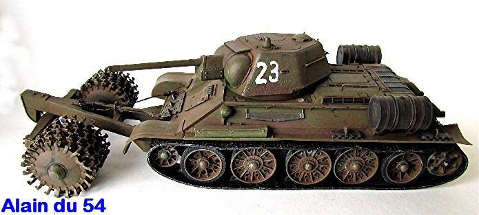 T-34 76mm Mle 43 rouleaux déminage 1/35 Zvezda FINI - Page 2 IMG_4645