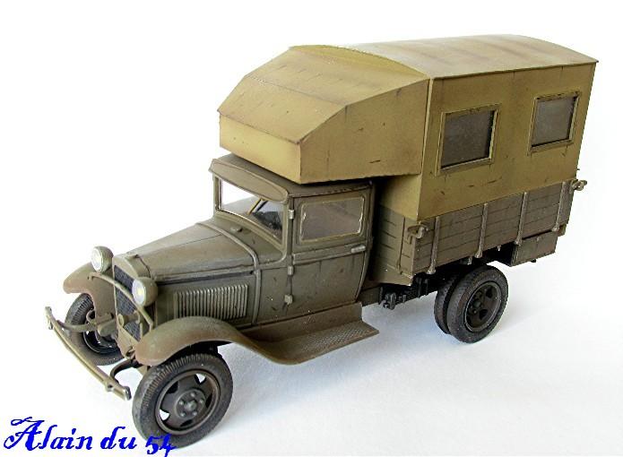 """GAZ AA Polutorka """"Parm"""" 1/35 base TOKO et scratch FINI AIMG_3556"""