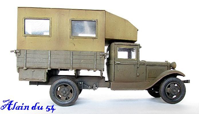 """GAZ AA Polutorka """"Parm"""" 1/35 base TOKO et scratch FINI AIMG_3567"""