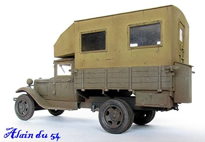 """GAZ AA Polutorka """"Parm"""" 1/35 base TOKO et scratch FINI AIMG_3572"""