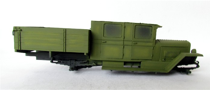 ZIS-5 double cabine conversion base Eastern Express 1/35 FINI IMG_3371
