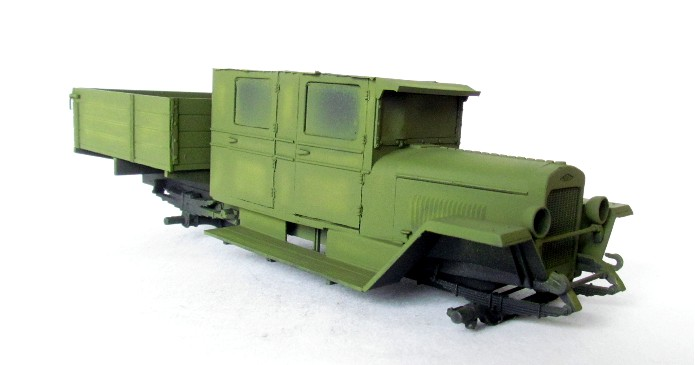 ZIS-5 double cabine conversion base Eastern Express 1/35 FINI IMG_3373