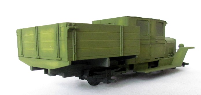 ZIS-5 double cabine conversion base Eastern Express 1/35 FINI IMG_3374