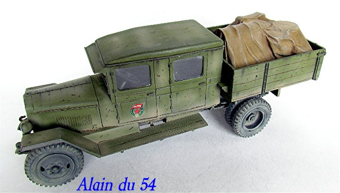 ZIS-5 double cabine conversion base Eastern Express 1/35 FINI AIMG_3390