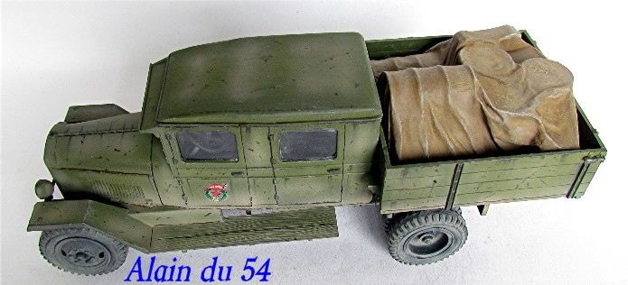 ZIS-5 double cabine conversion base Eastern Express 1/35 FINI AIMG_3395