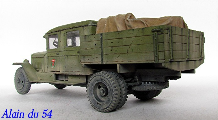 ZIS-5 double cabine conversion base Eastern Express 1/35 FINI AIMG_3406