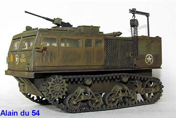M4 HIGH SPEED TRACTOR 1/35 Hobby Boss IMG_5750