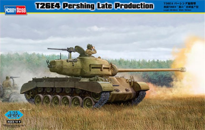 T26E4 PERSHING Late Production Hobby Boss 1/35 FINI 1649_rn