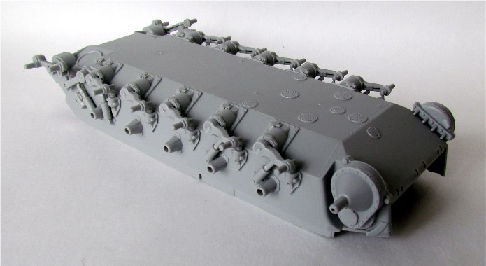 T26E4 PERSHING Late Production Hobby Boss 1/35 FINI IMG_4191