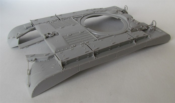 T26E4 PERSHING Late Production Hobby Boss 1/35 FINI IMG_4307