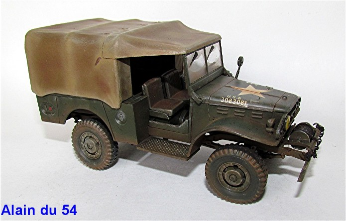 Dodge WC-52 1/35 Airfix IMG_3670
