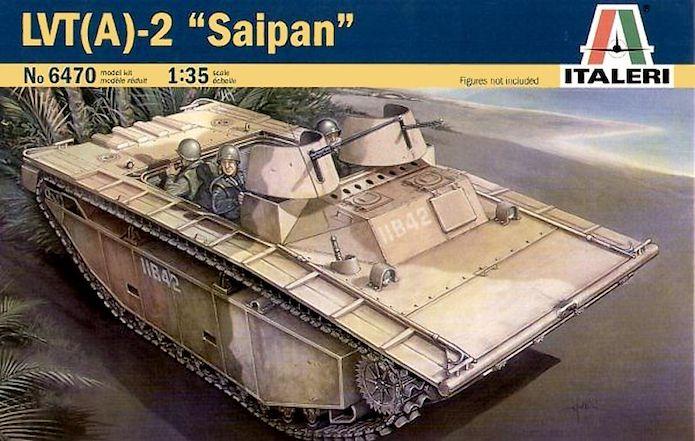LVT (A)2 Saipan 1/35 Italeri 1