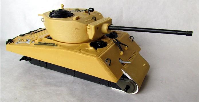 Sherman M4A3E2 JUMBO 1/35 conversion Tamiya/Verlinden FINI 002