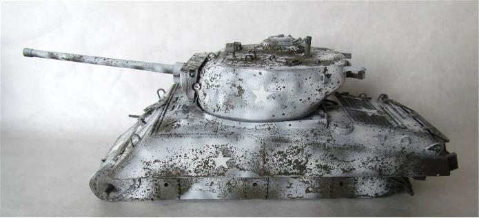 Sherman M4A3E2 JUMBO 1/35 conversion Tamiya/Verlinden FINI IMG_0482