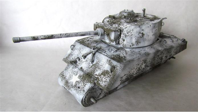 Sherman M4A3E2 JUMBO 1/35 conversion Tamiya/Verlinden FINI IMG_0483