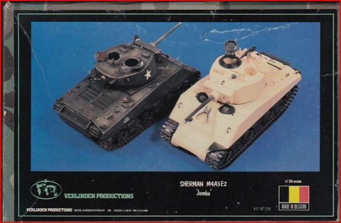 Sherman M4A3E2 JUMBO 1/35 conversion Tamiya/Verlinden FINI Sherman%20m4a3e2