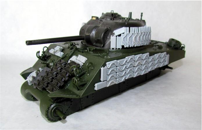 Sherman M4A2 base Accademy tourelle Tamiya 1/35 FINI IMG_0390