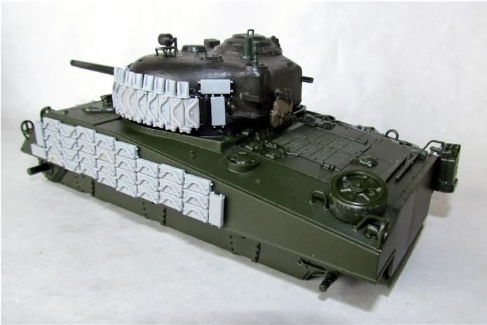Sherman M4A2 base Accademy tourelle Tamiya 1/35 FINI IMG_0392