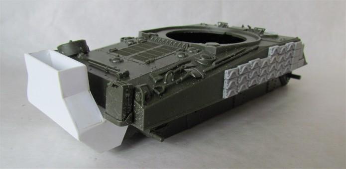 Sherman M4A2 base Accademy tourelle Tamiya 1/35 FINI IMG_0393