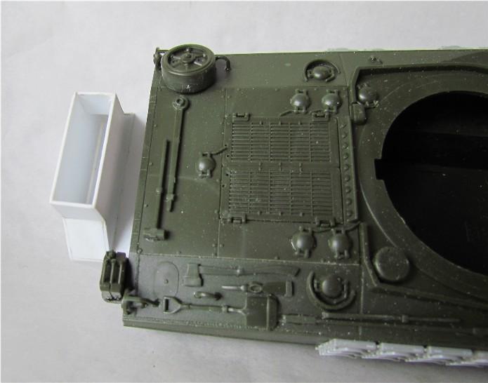 Sherman M4A2 base Accademy tourelle Tamiya 1/35 FINI IMG_0394
