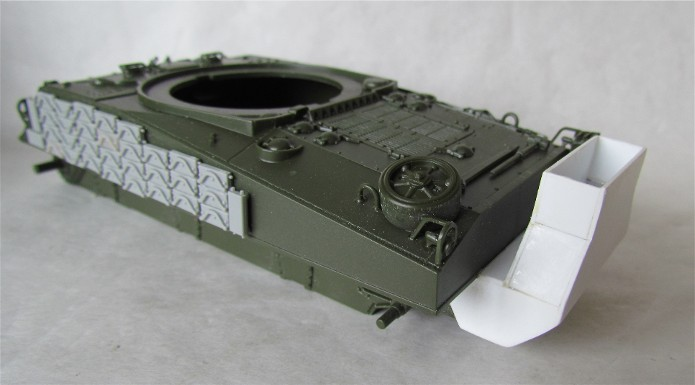 Sherman M4A2 base Accademy tourelle Tamiya 1/35 FINI IMG_0395
