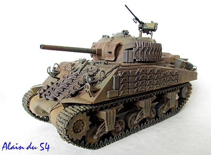 Sherman M4A2 base Accademy tourelle Tamiya 1/35 FINI - Page 2 Sm1