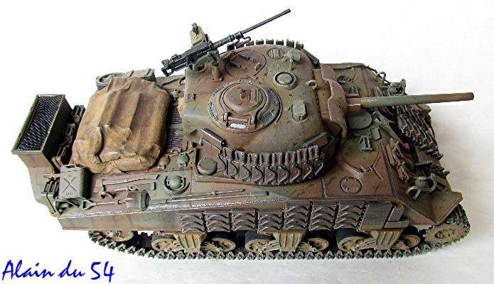 Sherman M4A2 base Accademy tourelle Tamiya 1/35 FINI - Page 2 Sm3