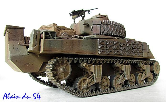 Sherman M4A2 base Accademy tourelle Tamiya 1/35 FINI - Page 2 Sm4