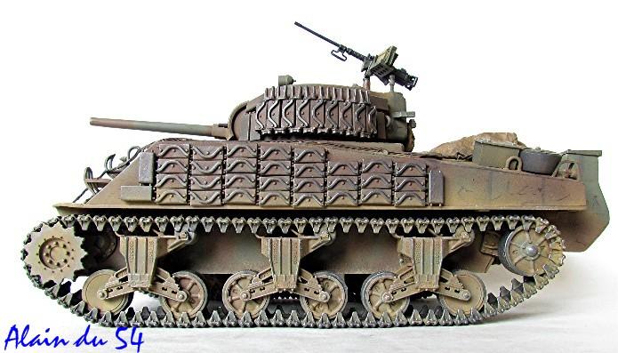 Sherman M4A2 base Accademy tourelle Tamiya 1/35 FINI - Page 2 Sm5