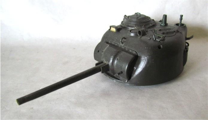 Sherman M4A2 base Accademy tourelle Tamiya 1/35 FINI IMG_0358