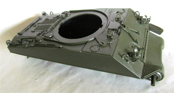 Sherman M4A2 base Accademy tourelle Tamiya 1/35 FINI IMG_0361