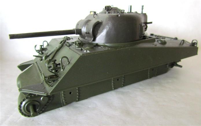 Sherman M4A2 base Accademy tourelle Tamiya 1/35 FINI IMG_0363