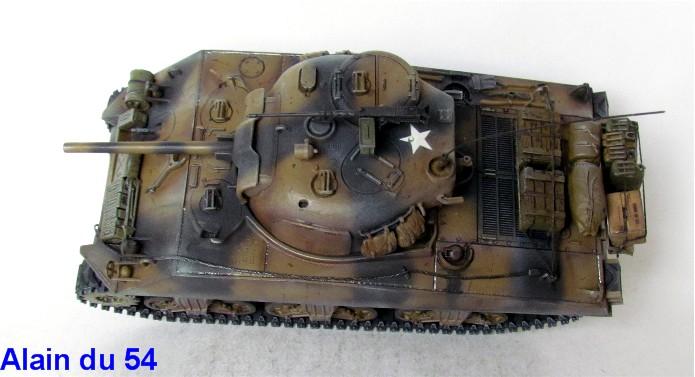 Sherman M4A3 75mm 1/35 base Tamiya Sm1