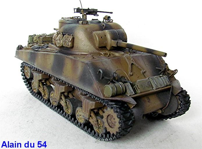 Sherman M4A3 75mm 1/35 base Tamiya Sm2